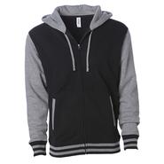 Unisex Heavyweight Varsity Zip Hood