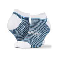 Confezione da 3 paia di calzini da sneaker Coolmax a righe miste