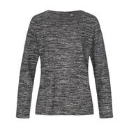 Jersey de punto de manga larga para mujer