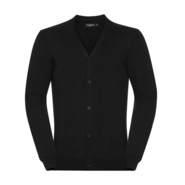 Cardigan tricoté à col en V pour hommes
