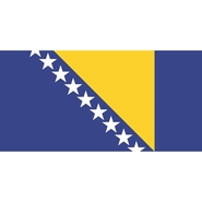 Flag Bosnia and Herzegovina