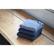 Torchon en tricot côtelé (2 pièces)