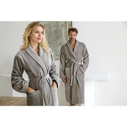 Velours Bathrobe Feeling / shawl collar
