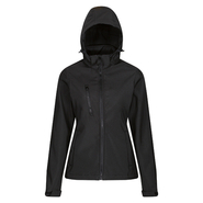 Womens Venturer 3-layer Printable Hooded Softshell Jacket