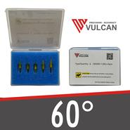 5 couteaux de traînée 60 ° pour Vulcan