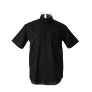 Camicia Oxford da lavoro classica da uomo a maniche corte
