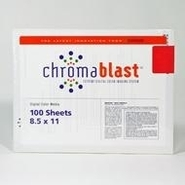 100 sheets chromablast paper A3