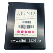 Magenta Ink Cartridge L-801 Label Printer