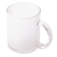 12er carton cup made of frosted glass, 11oz, 9.5cm high