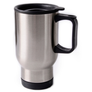 12er box stainless steel cup silver, 16oz