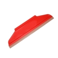 big plastic squeegee with rubber lip