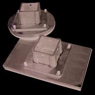 Replacement bottom plate rectangular 15cm x 25cm