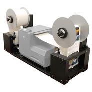Auf- und Abwickelsystem für den NeuraLabel 300x Etikettendrucker