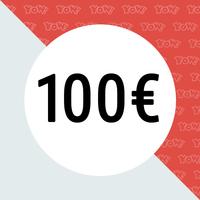 YOW! Einkaufsgutschein im Wert von 100 EUR