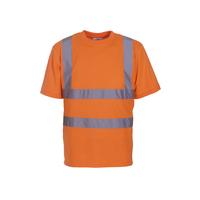Two Band & Brace Hi Vis T-Shirt