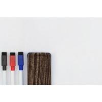 Selbstklebende Whiteboard-Folie weiß glänzend, 135cm x 1m