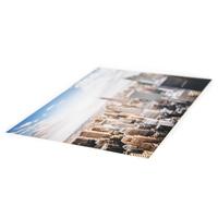 WunderBoard weiß glänzend, einzeln, 200mm x 600mm