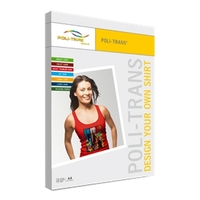 50 x Poli-Trans Inkjet Light DIN A4 Transferfolie