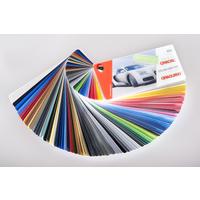 Farbfächer Oracal 970 Premium Wrapping Cast