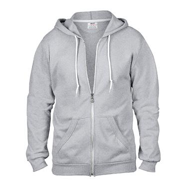 Full Zip Hooded Sweatjacket