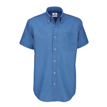 Shirt Oxford short sleeve / men