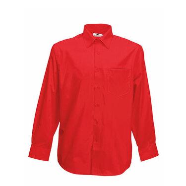 Men´s Long Sleeve Poplin Shirt