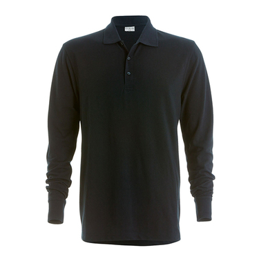 Piqué Polo Shirt Long Sleeved