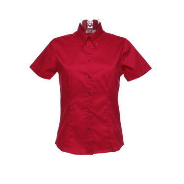 Women´s Corporate Oxford Shirt Short Sleeve