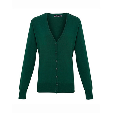 Ladies Button Through Knitted Cardigan