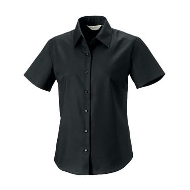 Ladies´ Short Sleeve Oxford Shirt