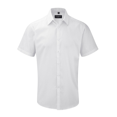 Men´s Short Sleeve Herringbone Shirt