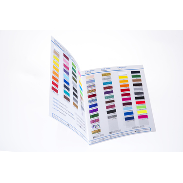 Flexfolien Farbkarte Stahls CAD-CUT SPORTSFILM
