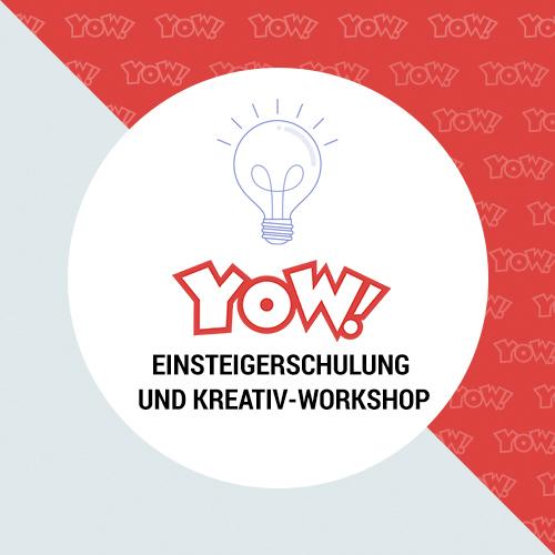 YOW! Beginner training and creative workshop