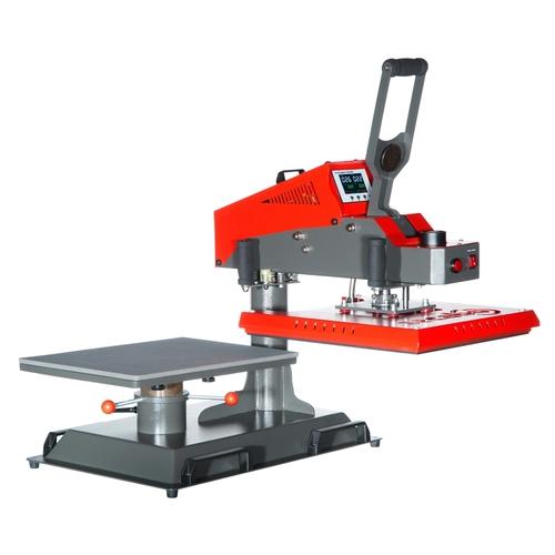 Secabo TS7 prensa térmica de apertura horizontal