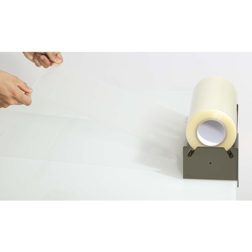 dispenser for application tapes up to 35cm width