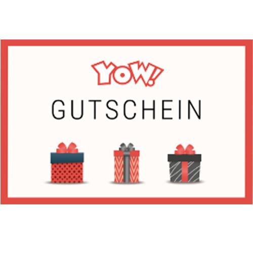 YOW! Shopping voucher worth 100 EUR