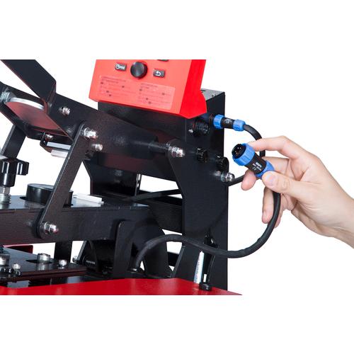 Secabo TC5 SMART MEMBRANE modular heat press 38cm x 38cm with Bluetooth