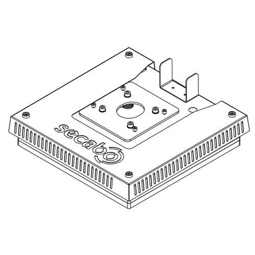 Secabo HP5 heating plate and base plate 38cm x 38cm