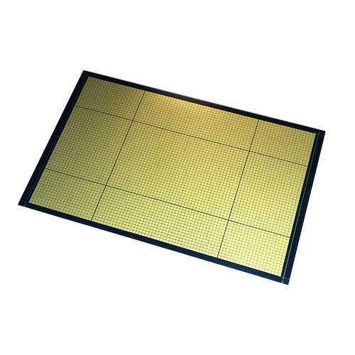5 plot mats A3