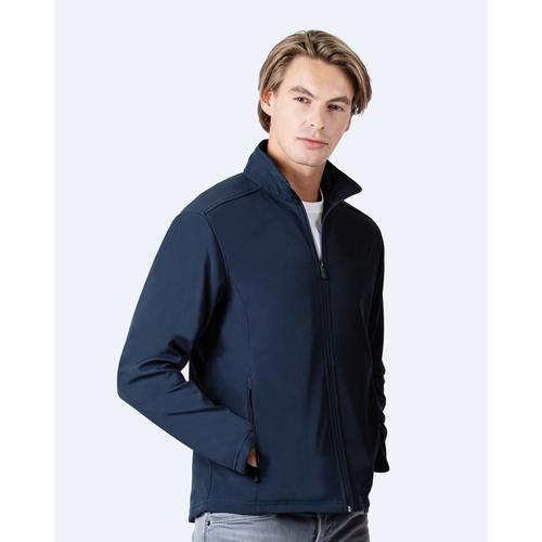 Unisex soft shell jacket