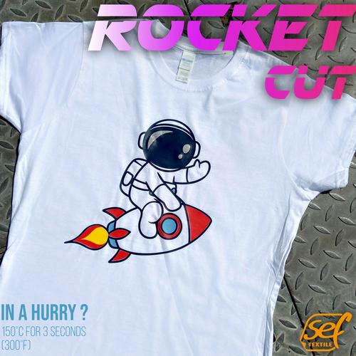 SEF flex film RocketCut Candy Pink 43, 1 mx 50 cm