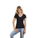 Women´s Slim Fit V-Neck-T
